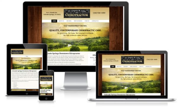 Sabin Chiropractic Website Design