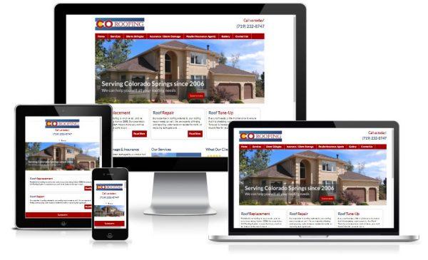 Roofing Contractor Website Design