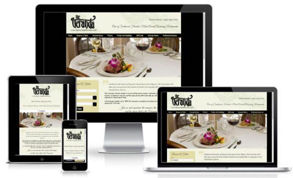 Restaurant WordPress Website Design Florida