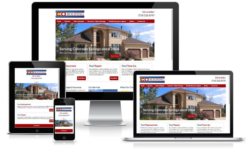 Contractor Website Design Colorado Springs