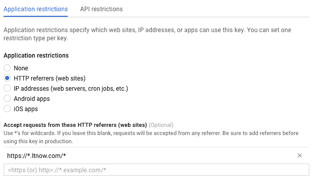 Keep Google Maps API Secure